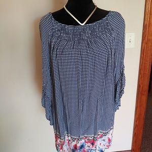 Terra & Skybell sleeve shirt